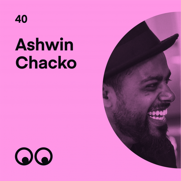 Creative Boom Podcast Episode #40 - Ashwin Chacko on discovering his 'why' and bringing the world together with his positive art