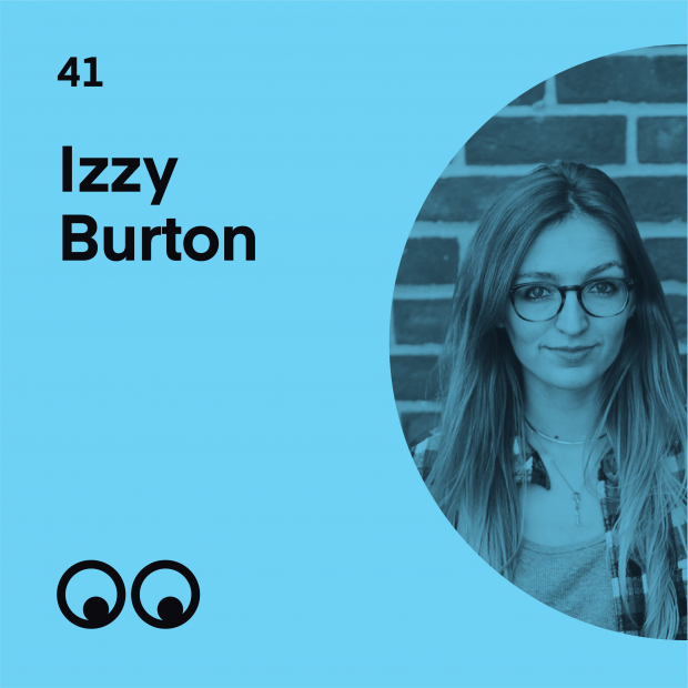 Creative Boom Podcast Episode #41 - Izzy Burton on her passion for storytelling and what it's like to direct your own films