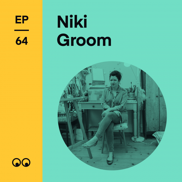 Creative Boom Podcast Episode #64 - Niki Groom on building a career in illustration, slow fashion and why the industry must change