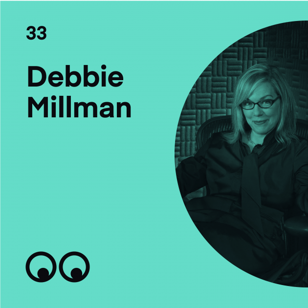 Creative Boom Podcast Episode #33 - Debbie Millman on the beauty of mistakes and why having courage is empowering