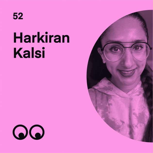Creative Boom Podcast Episode #52 - Harkiran Kalsi talks diversity and pushing for real change in the creative industries