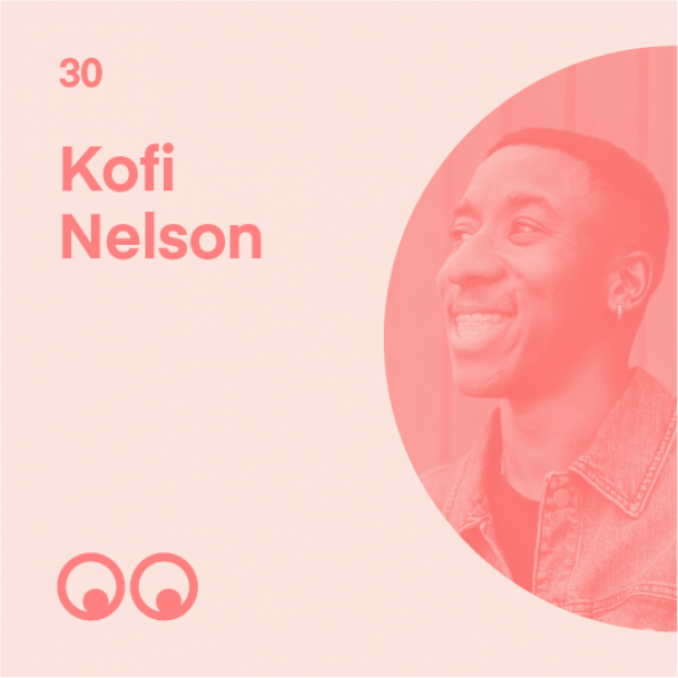 Creative Boom Podcast Episode #30 - Kofi Nelson on music and design, finding courage, and graduating during a global pandemic