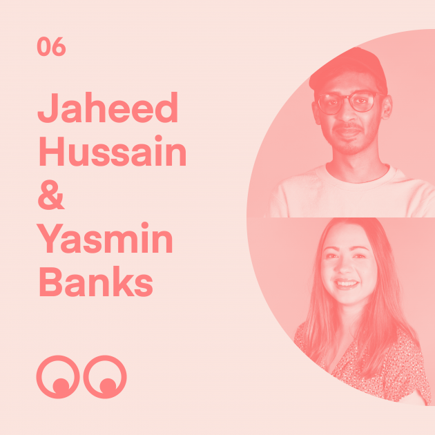 Creative Boom Podcast Episode #6 - Jaheed Hussain & Yasmin Banks talk graduation and the pressure of entering the working world