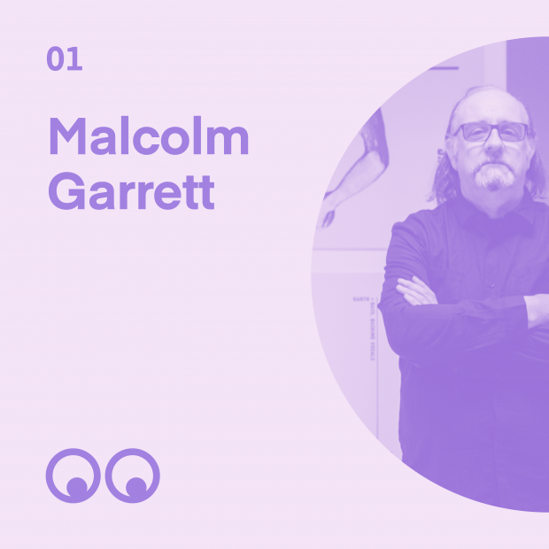 Creative Boom Podcast Episode #1 - Malcolm Garrett talks album covers, painted jeans and his love of Manchester