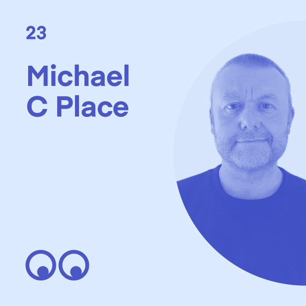 Creative Boom Podcast Episode #23 - Michael C Place on electronic music and design, overcoming burnout, and moving North for a better life