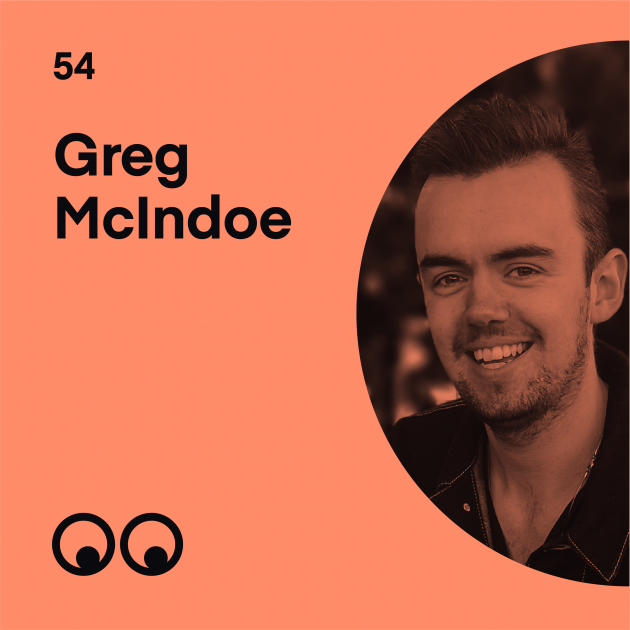 Creative Boom Podcast Episode #54 - Greg McIndoe on mental health, the importance of opening up and being a happy creative