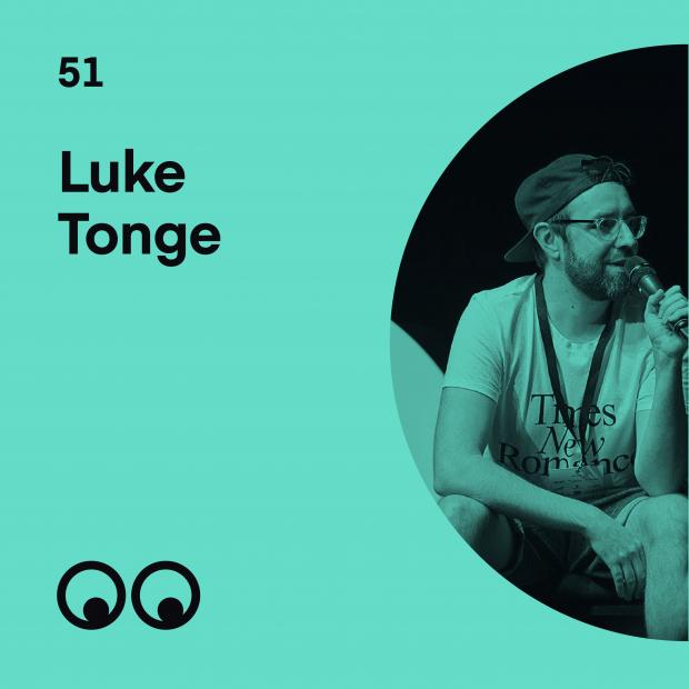 Creative Boom Podcast Episode #51 - Luke Tonge on building a creative community where everyone feels welcome