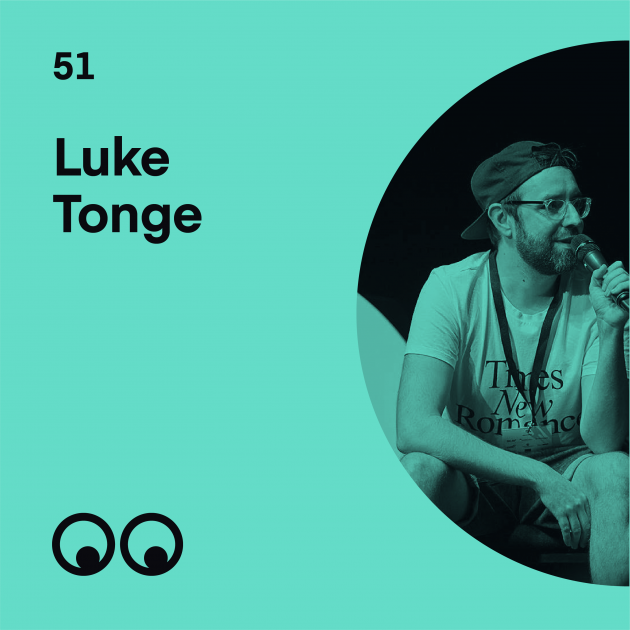 Creative Boom Podcast Episode #51 - Luke Tonge on building a creative community where everyone feels welcome