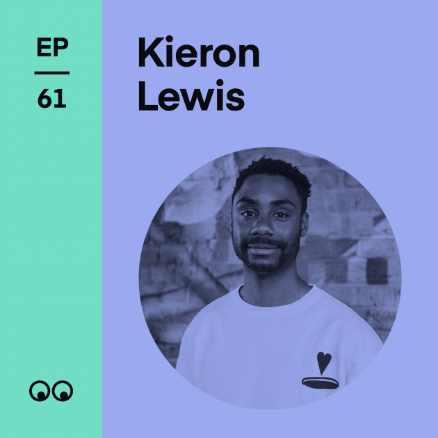 Creative Boom Podcast Episode #61 - Kieron Lewis on graphic design, building confidence and going freelance during a pandemic