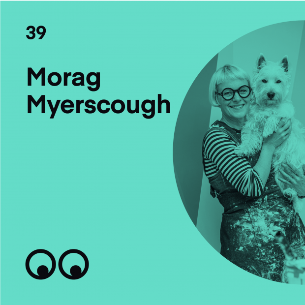 Creative Boom Podcast Episode #39 - Morag Myerscough on a year of change, finding belonging and embracing the now