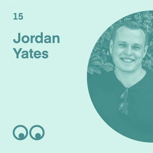 Creative Boom Podcast Episode #15 - Jordan Yates on opening up as a male designer, mental health and why he loves to give back
