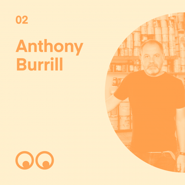 Creative Boom Podcast Episode #2 - Anthony Burrill on finding his place in the world and why you have to be careful with words