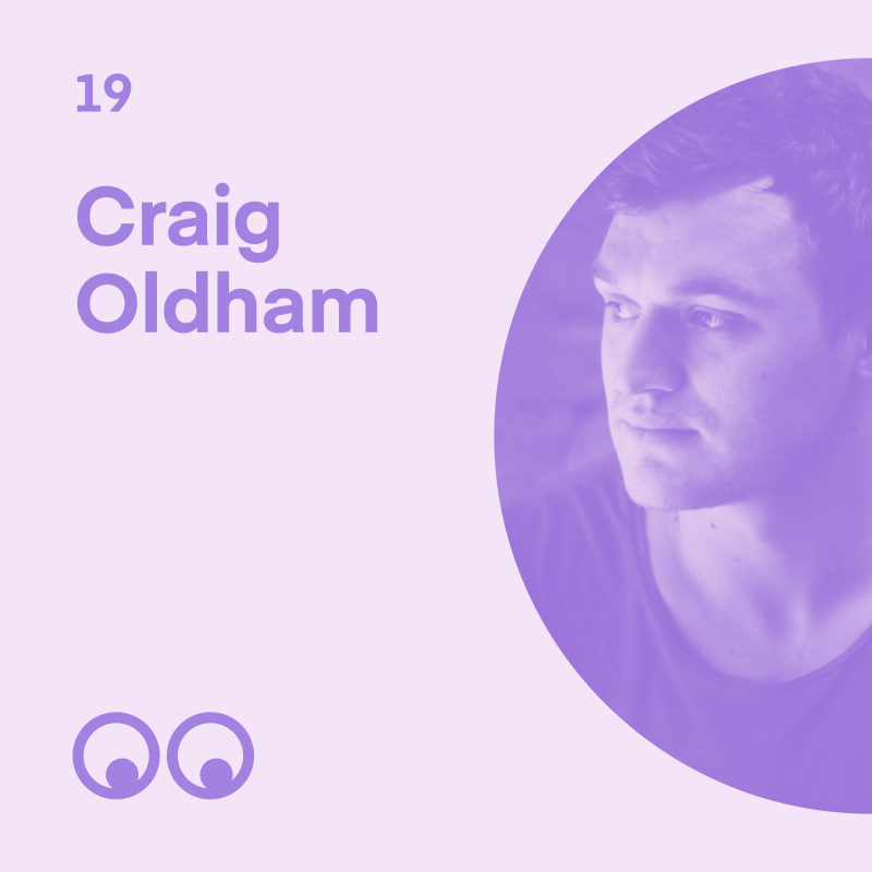 Creative Boom Podcast - Episode 19 - Craig Oldham on not conforming, favourite movies, and helping the next generation of designers