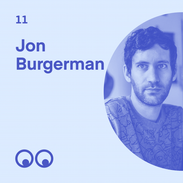 Creative Boom Podcast Episode #11 - Jon Burgerman on being an introvert, the joy of googly eyes and why humour keeps him sane in New York