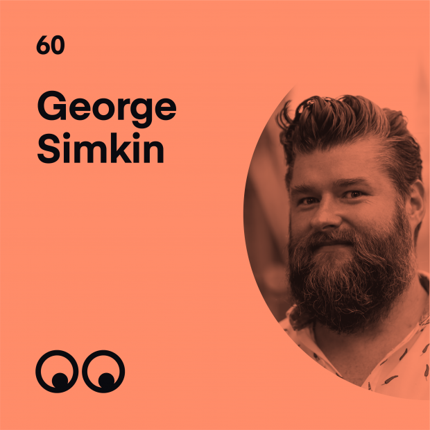 Creative Boom Podcast Episode #60 - George Simkin on not taking life too seriously and the joy of play in graphic design