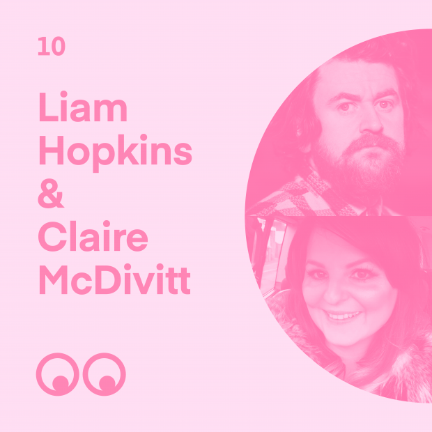 Creative Boom Podcast Episode #10 - Liam Hopkins (Lazerian) & Claire McDivitt on doing what you love, overcoming loss and why family comes first