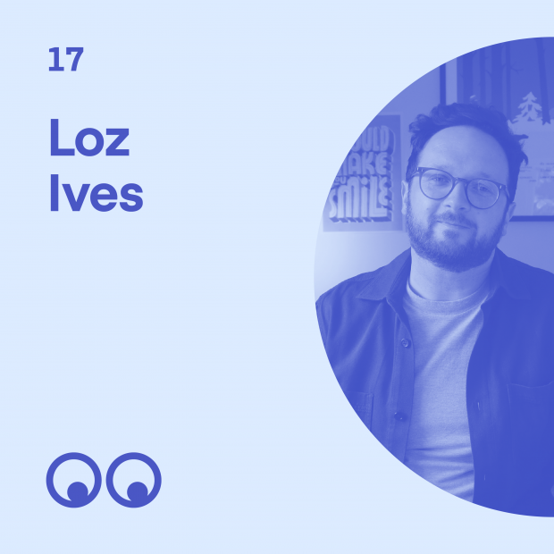 Creative Boom Podcast Episode #17 - Loz Ives on running a lean design studio and why growing a business isn't for everyone