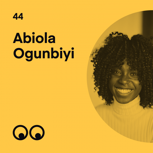 Creative Boom Podcast Episode #44 - Abiola Ogunbiyi on acting, perseverance and why you have to stay grounded as a creative