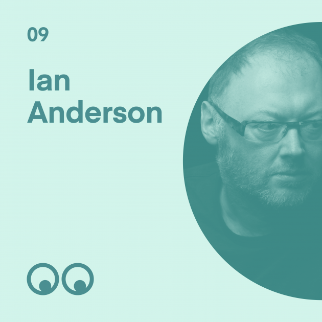 Creative Boom Podcast Episode #9 - Ian Anderson on Warp, Wipeout and thirty years of The Designers Republic