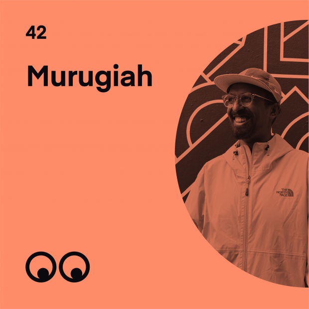 Creative Boom Podcast Episode #42 - Murugiah on finding himself and why your health depends on following your dreams