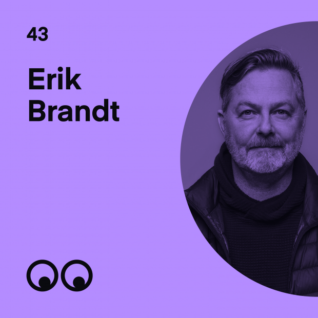 Creative Boom Podcast Episode #43 - Erik Brandt on graphic design, home garage exhibitions and his love of teaching