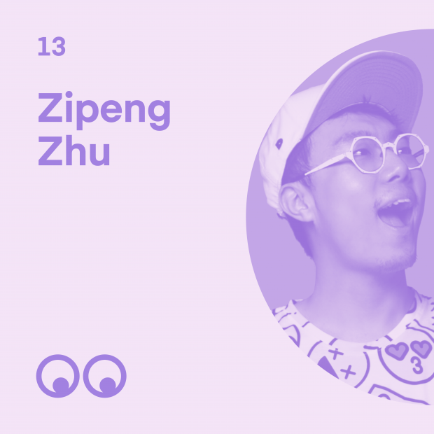 Creative Boom Podcast Episode #13 - Zipeng Zhu talks of a quiet childhood in China and how it inspired him to 'dazzle'