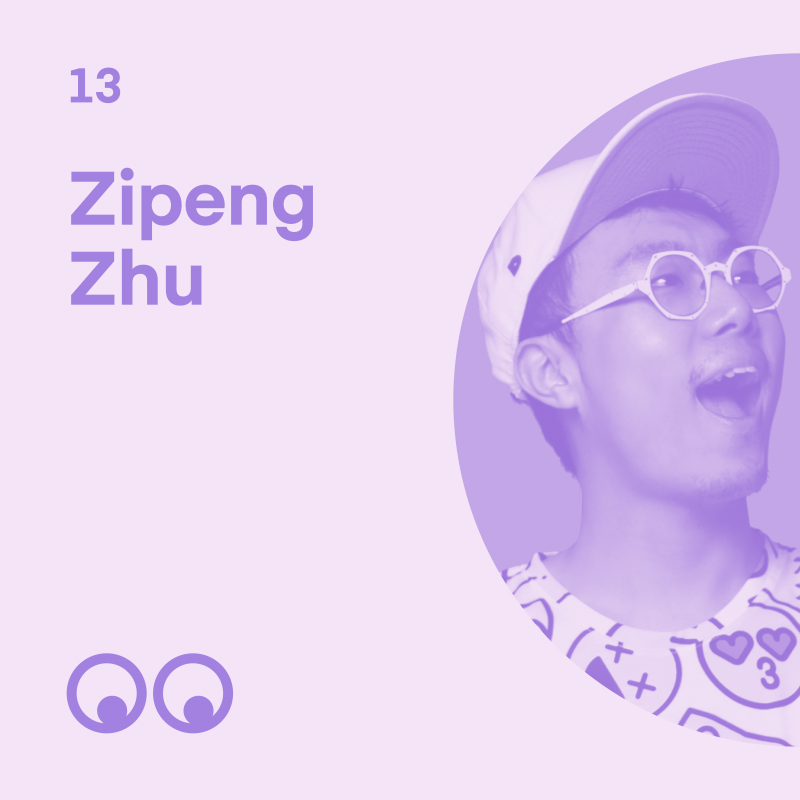 Creative Boom Podcast - Episode 13 - Zipeng Zhu talks of a quiet childhood in China and how it inspired him to 'dazzle'
