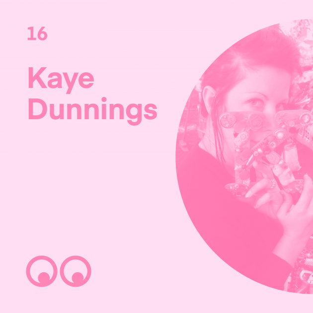 Creative Boom Podcast Episode #16 - Kaye Dunnings on Glastonbury, the wild story behind Shangri-La, and the creativity of recycling